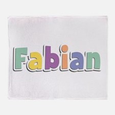Fabian Spring14 Throw Blanket