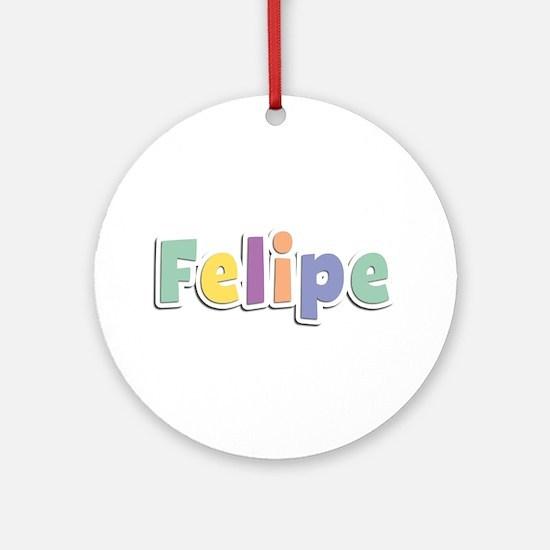 Felipe Spring14 Round Ornament