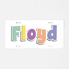 Floyd Spring14 Aluminum License Plate
