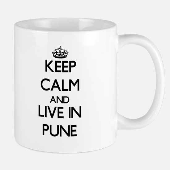 Keep Calm and live in Pune Mugs