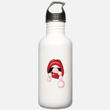 Pink Pearls Water Bottle