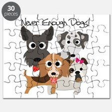 Never Enough Dogs Puzzle