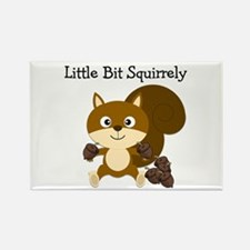 Squirrely Rectangle Magnet