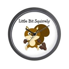 Squirrely Wall Clock
