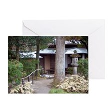 Isuien Garden Walk Greeting Card