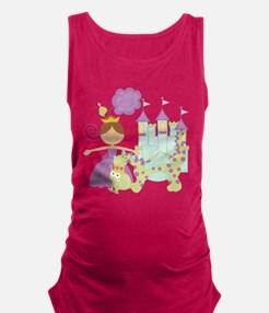 Brunette Princess Maternity Tank Top