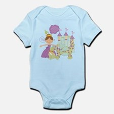 Brunette Princess Infant Bodysuit