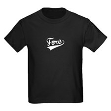Fore, Retro, T-Shirt