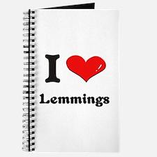 I love lemmings Journal