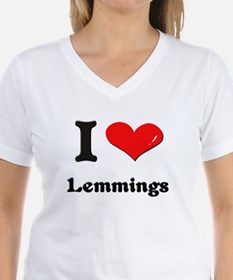I love lemmings Shirt