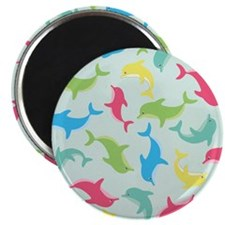 Darling Dolphins Magnet