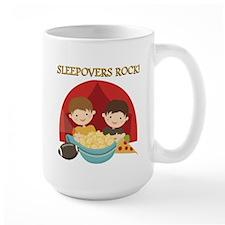 Sleepovers Rock Mug