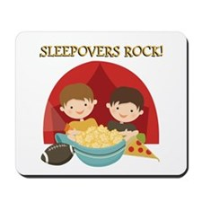 Sleepovers Rock Mousepad