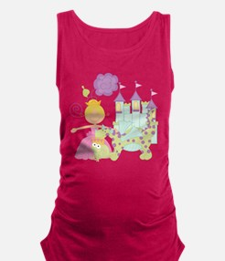 Blond Princess Maternity Tank Top