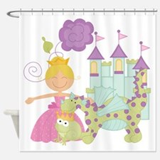 Blond Princess Shower Curtain
