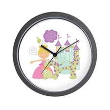 Blond Princess Wall Clock