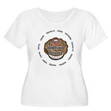 Perth Blockheads White BG Plus Size T-Shirt