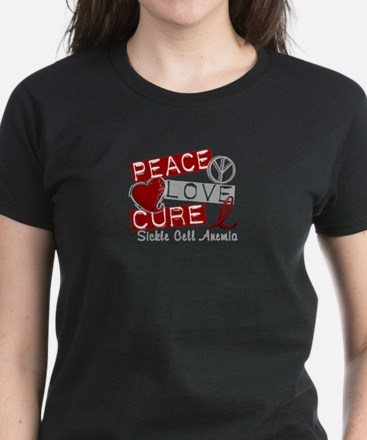 Sickle Cell Anemia PeaceLoveC Tee