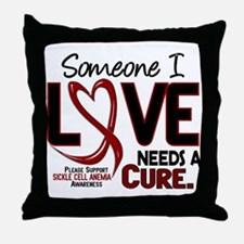 Sickle Cell Anemia NeedsaCure2 Throw Pillow