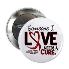 "Sickle Cell Anemia NeedsaCure2 2.25"" Button"