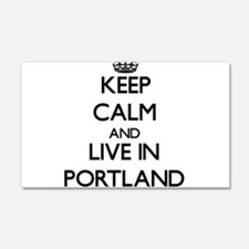 Keep Calm and live in Portland Wall Decal