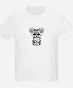 Cute Baby Snow Leopard Cub T-Shirt