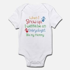 Embryologist Like Mommy Infant Bodysuit