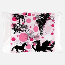Fantasy in Pink Pillow Case