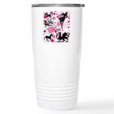 Fantasy in Pink Travel Mug