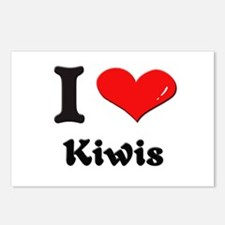 I love kiwis  Postcards (Package of 8)
