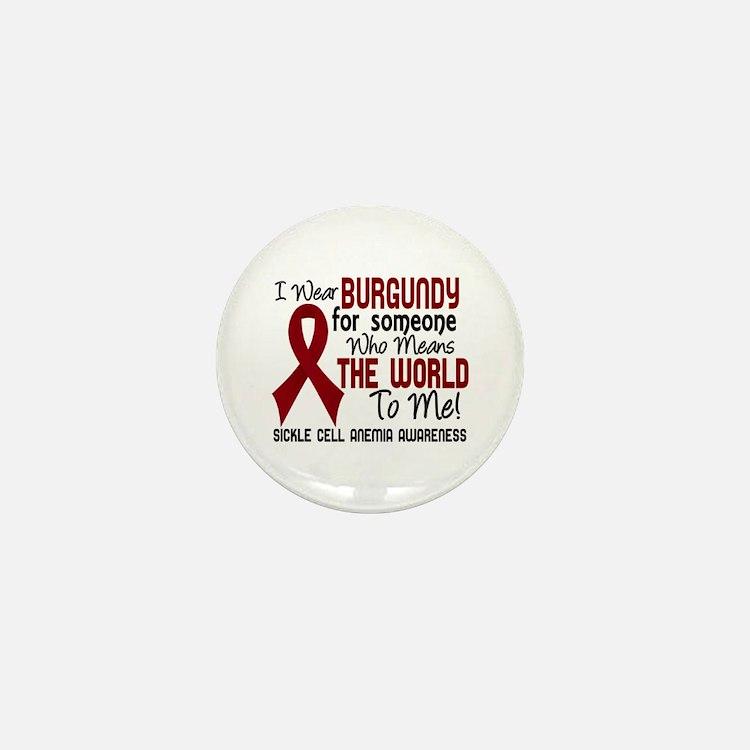 Sickle Cell Anemia MeansWorld2 Mini Button