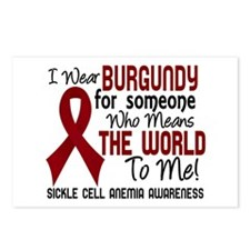 Sickle Cell Anemia MeansW Postcards (Package of 8)
