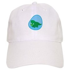 Little green dinosaur in the womb Baseball Cap