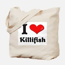 I love killifish Tote Bag
