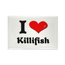 I love killifish Rectangle Magnet