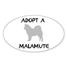 Adopt Mal Oval Decal
