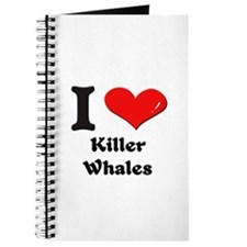 I love killer whales Journal