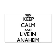 Keep Calm and live in Anaheim Wall Decal