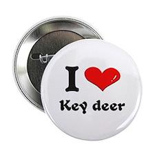 I love key deer Button