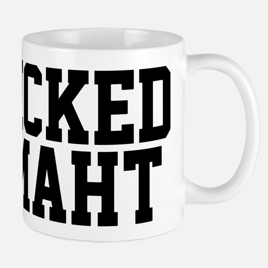 Wicked smaht funny Bost Stainless Steel Travel Mug