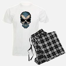 Scottish Flag Skull pajamas
