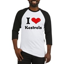 I love kestrels Baseball Jersey