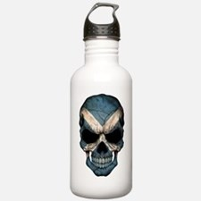 Scottish Flag Skull Stainless Water Bottle 1.0l