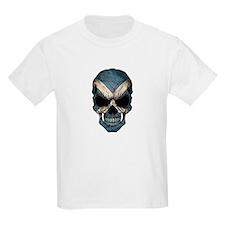 Scottish Flag Skull T-Shirt