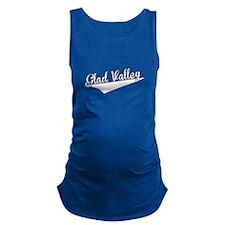 Glad Valley, Retro, Maternity Tank Top