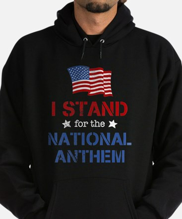 Stand For the Anthem Hoodie (dark)