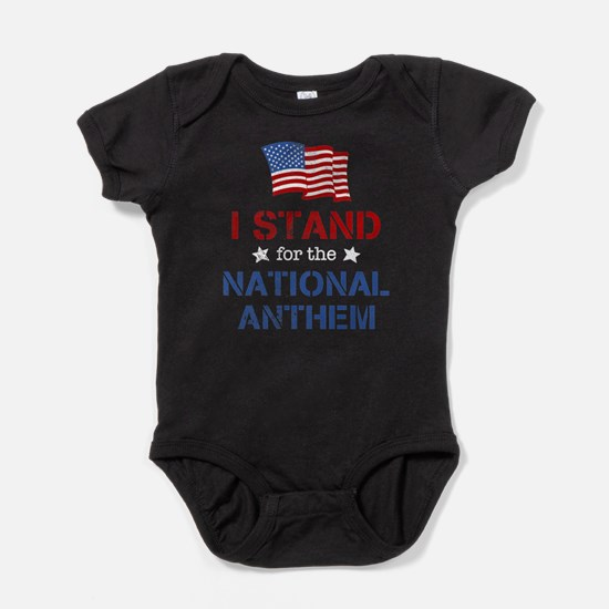 Stand For the Anthem Baby Bodysuit