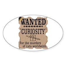 Curiosity Killed the Cat (Vin Decal