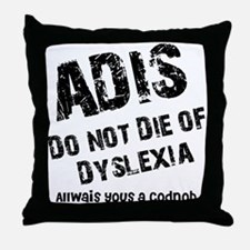 The AIDS Throw Pillow