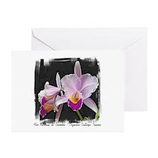 Orquidea Cattleya Trianae Greeting Cards (Package